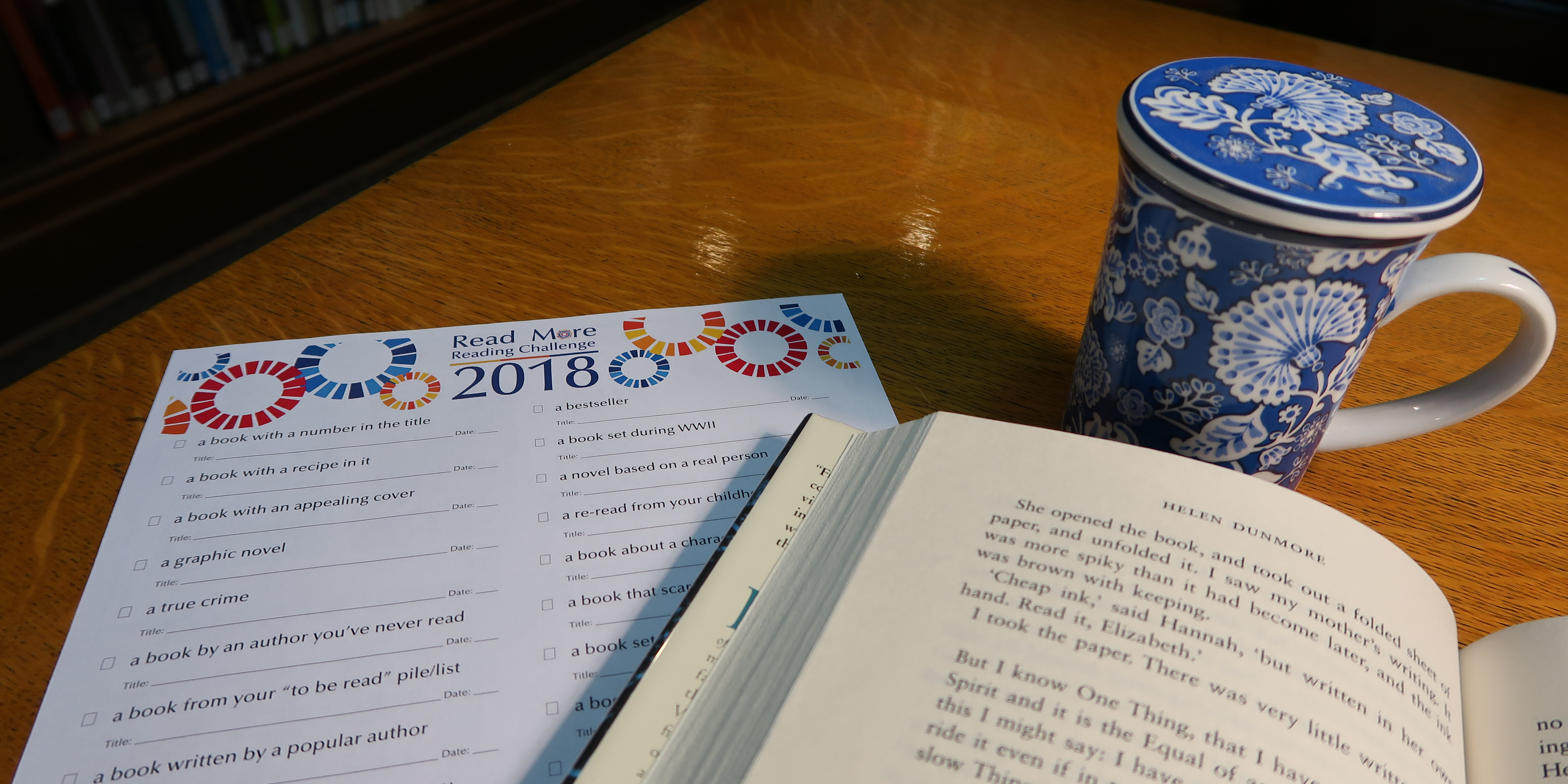 Read More! 2018 Reading Challenge