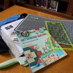 Quilting Discover Kit image of contents of kit