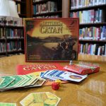 image of Settlers of Catan game