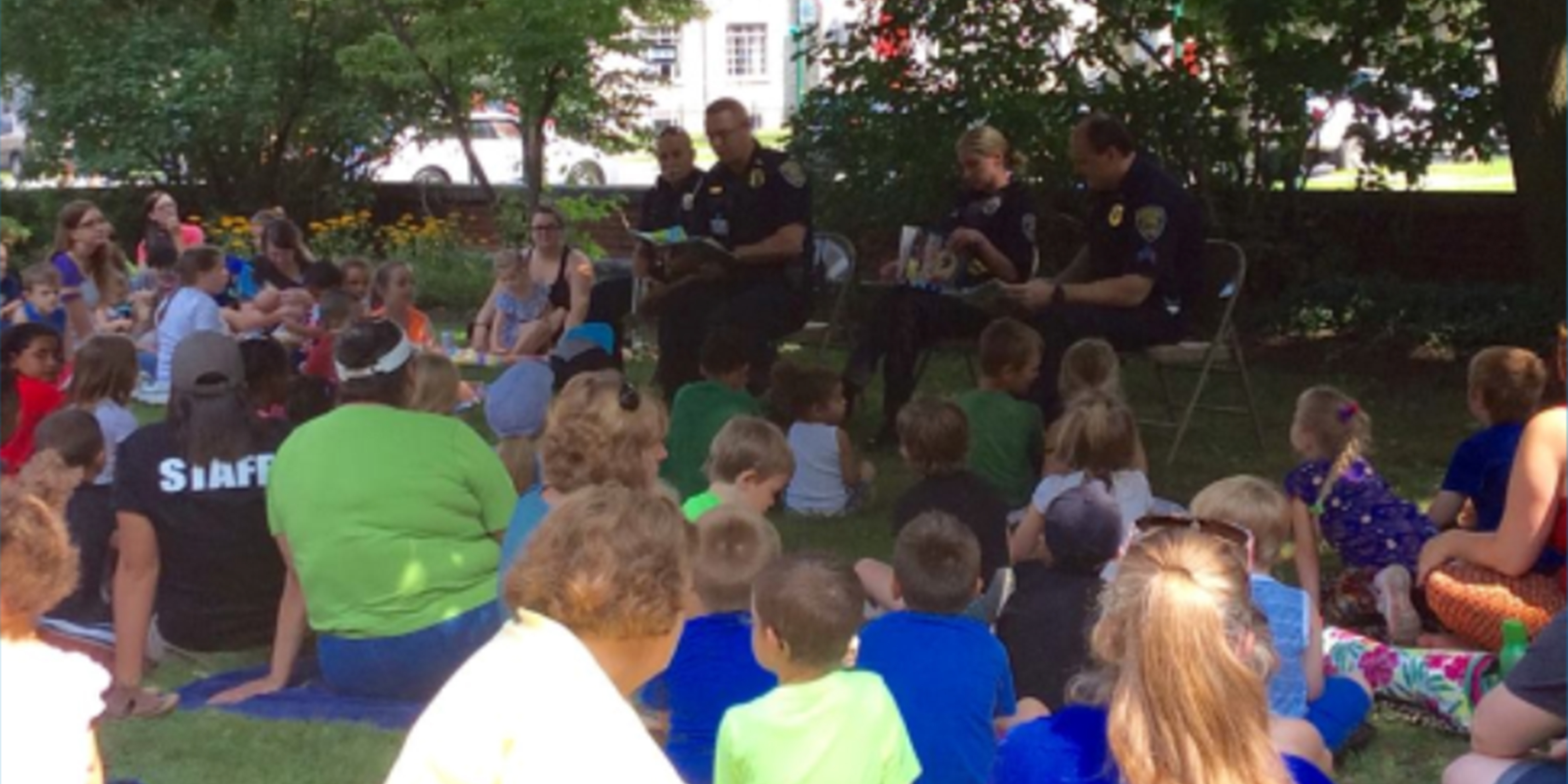 Storytime with the Auburn Police  Department