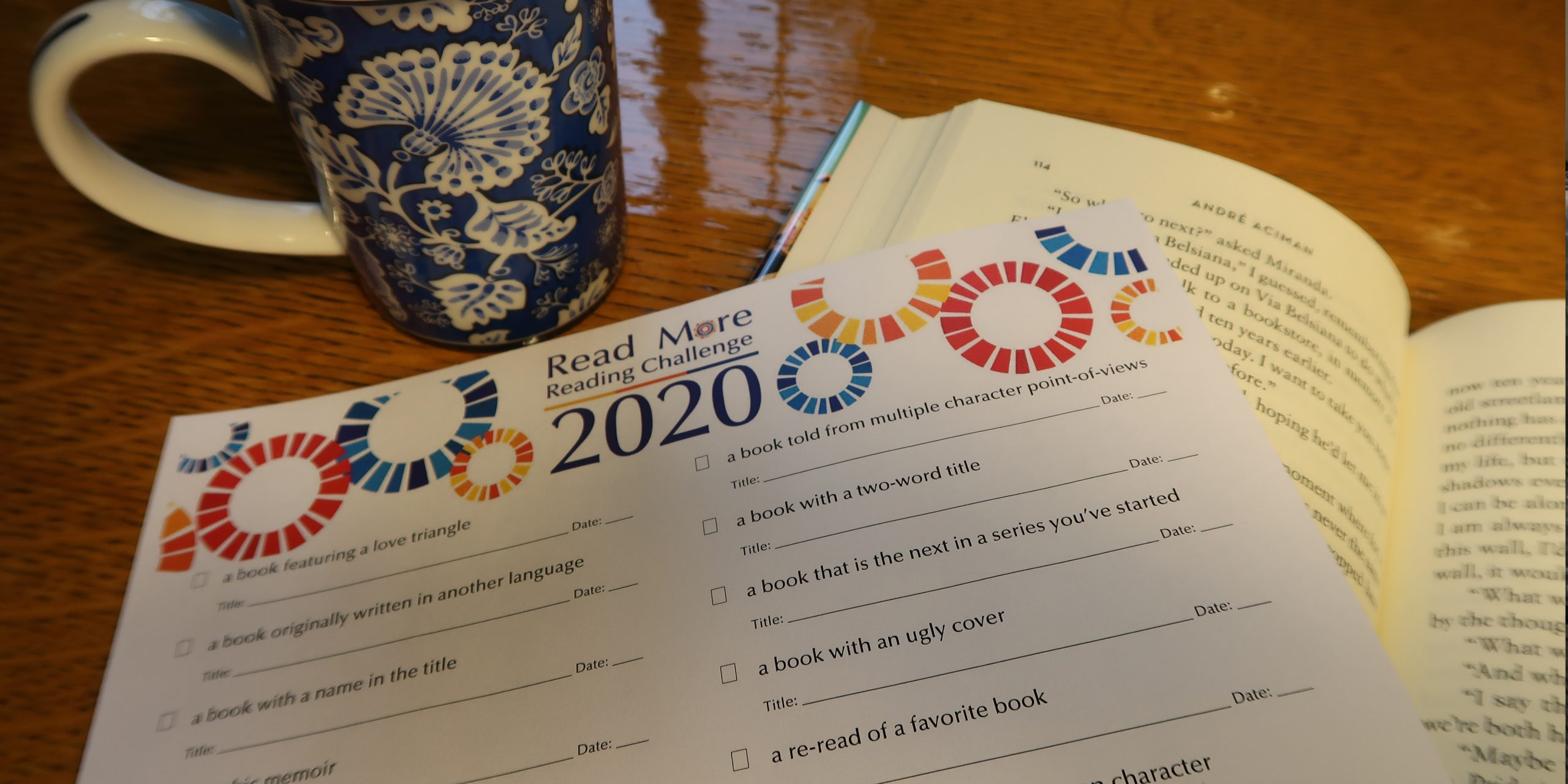 Read More! 2020 Reading Challenge