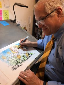 Local Artist Ed Catto