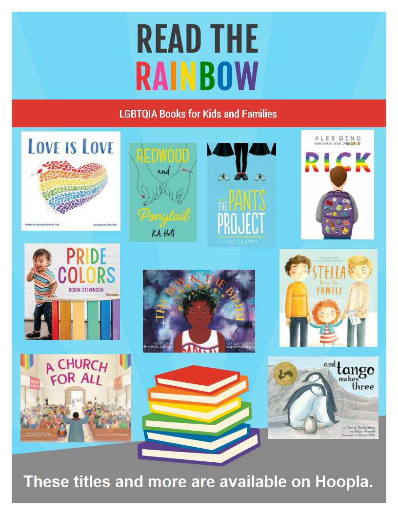 Read the rainbow book choices