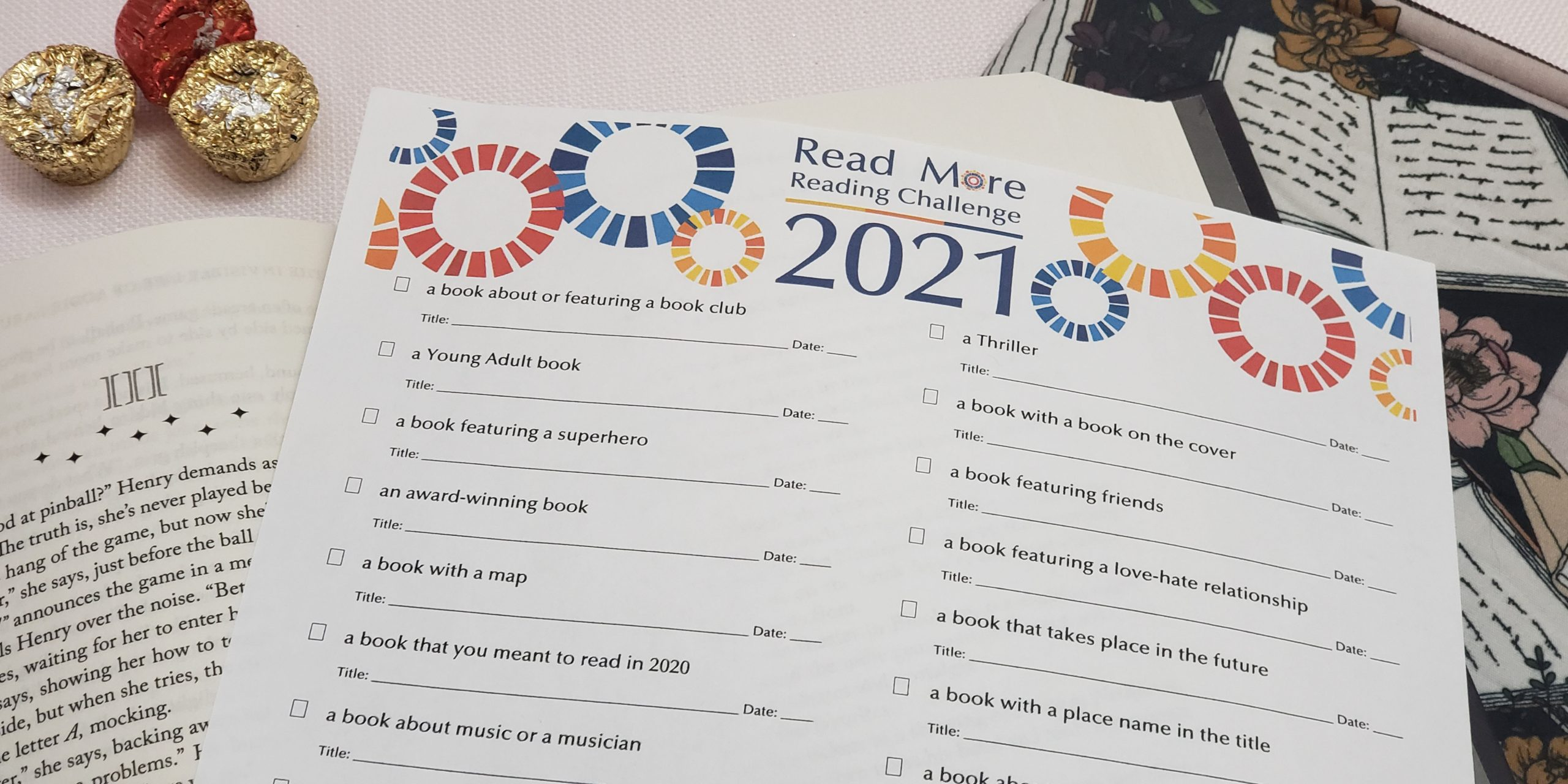 Read More! 2021 Reading Challenge