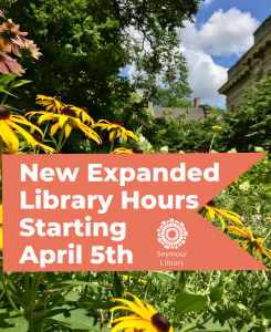 New expanded library hours