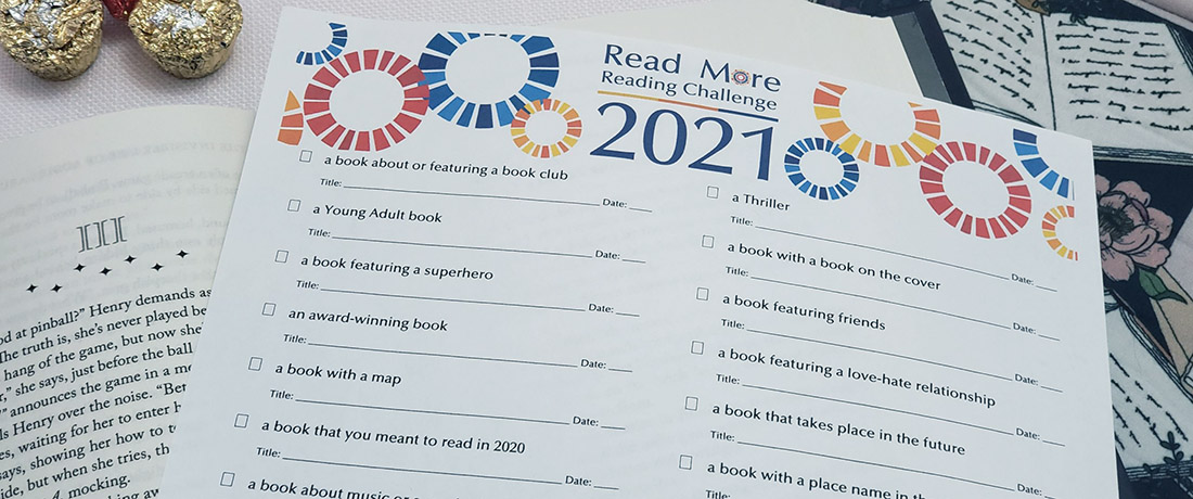 Read More Reading Challenge with list of suggested themes